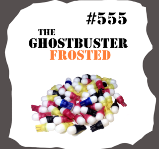 #555 Non-Ghosting FROSTED LED for Pinball