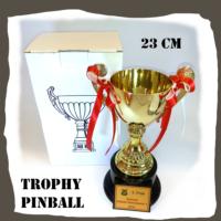 Gold Trophy Pinball 23 cm