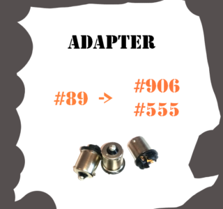 Adapter #89 to #555 & #906 LED for Pinball