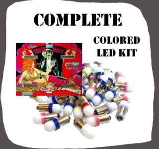 LED Complete Colored kit Bally Mata Hari