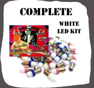 LED Complete White kit Bally Mata Hari