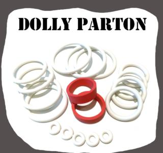 Bally Dolly Parton 1979 Rubber