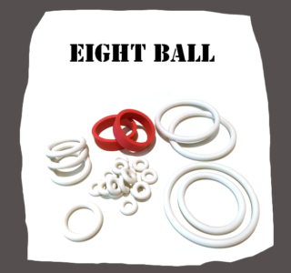 Bally Eight Ball 1977 Rubber Set