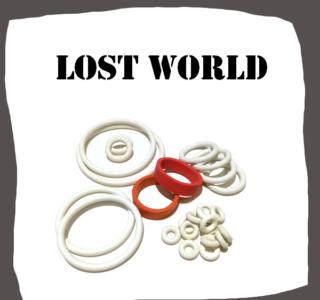 Bally Lost World Rubber Set