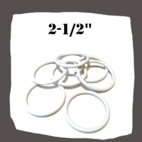 Rubber Ring 2 1-2'' (63.5X6.35) for Pinball Machine