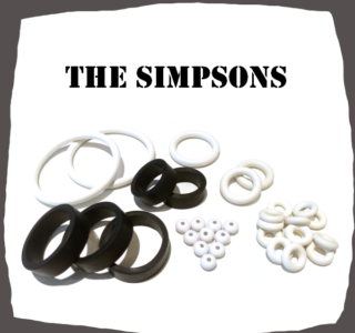 Stern The Simpsons Pinball Party Rubber Kit