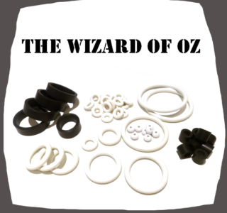 The Wizard of Oz Rubber Set