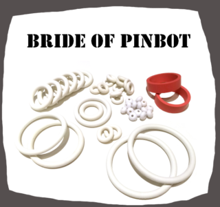 Williams Bride of Pinbot Rubber Set for Pinball Machine