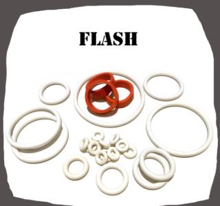 Williams Flash 1979 Rubber Set for Pinball Machine
