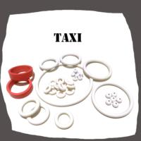 Williams Taxi Pinball Machine Rubber Set
