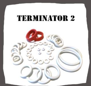 Williams Terminator 2 Rubber Set for pinball machine
