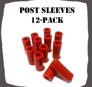 Post Sleeves 12-Pack Pinball Parts