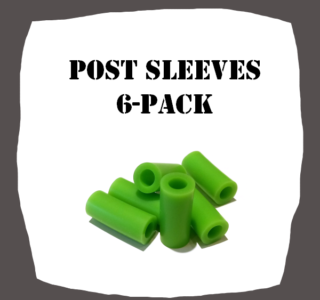 Post Sleeves 6-Pack Pinball Parts