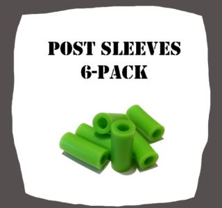 Post Sleeves 6-Pack Pinball Parts