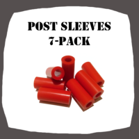 Post Sleeves 7-Pack Pinball Parts