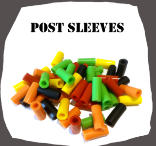 Standard Post Sleeves for Pinball Machine Assorted