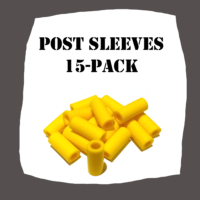 Standard Post Sleeves 15 Pack bfor Pinball Machine
