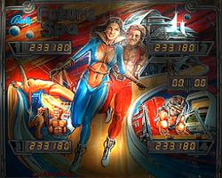 Bally Future Spa Pinball Machine