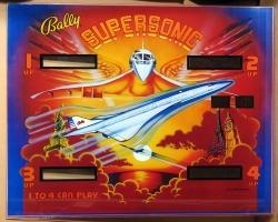 Bally Supersonic 1979 Pinball Machine