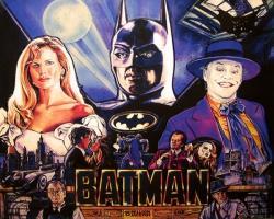 Data East Batman 1991 Pinball Machine