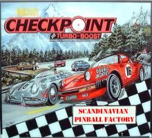 Data East Checkpoint 1991 Pinball Machine