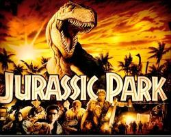 Data East Jurassic Park 1993 Pinball Machine