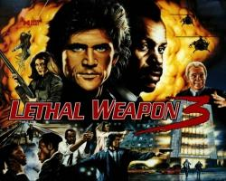 Data East Lethal Weapon 3 1990 Pinball MAchine