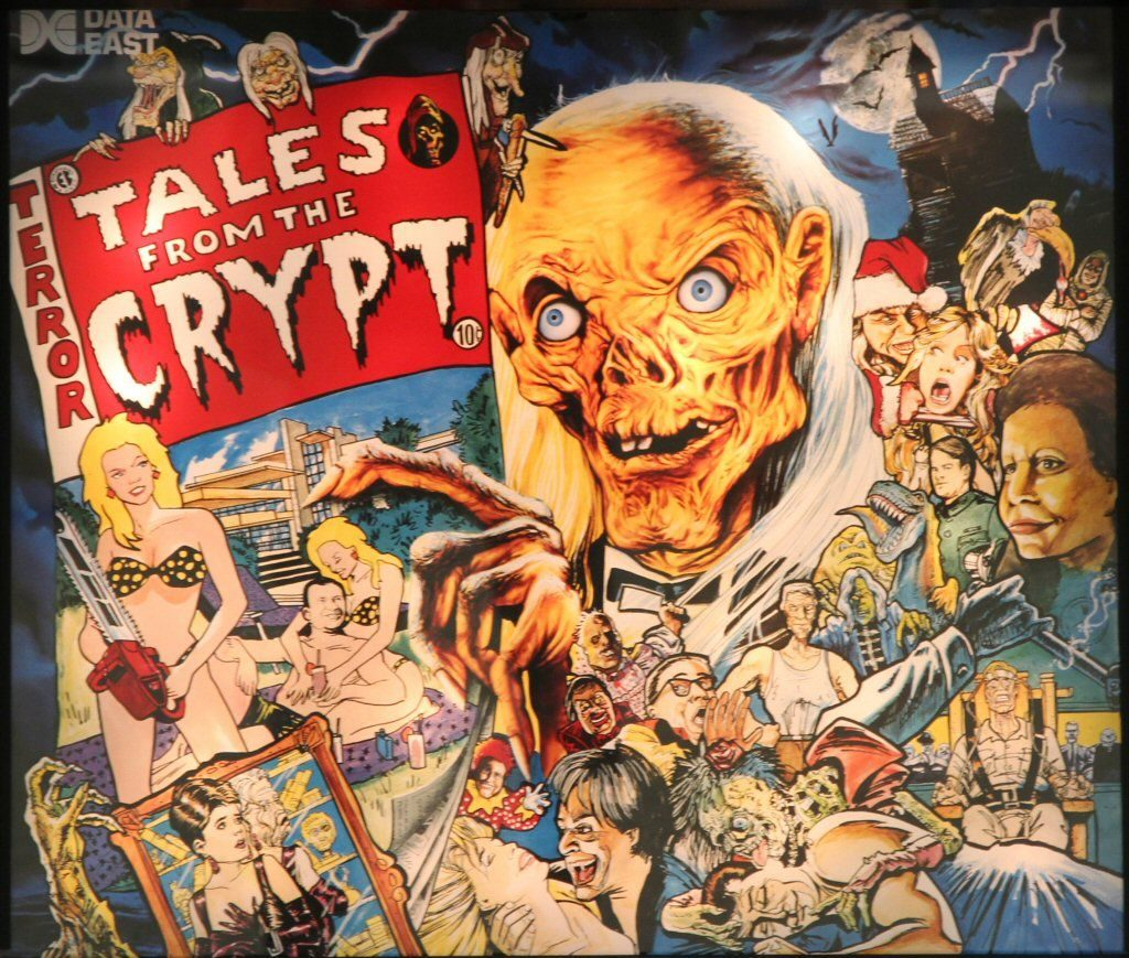Data East Tales from the Crypt 1993 Pinball Machine