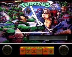 Data East Teenage Mutant Ninja Turtles