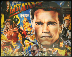 Data East The Last Action Hero 1993 Pinball Machine