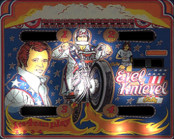 Bally Evel Kenivel 1978 Pinball Machine