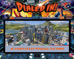 JJP Dialed In 2017 Pinball Machine