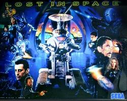 SEGA Lost in Space 1998 Pinball Machine