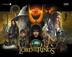 Stern Lord of the Rings 2003 Pinball Machine