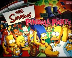 Stern The Simpsons 2003 Pinball Party