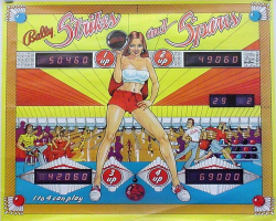 Bally Strikes n Spares Pinball Machine
