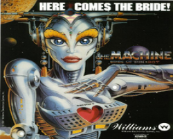 Williams Bride of Pinbot 1991 Pinball Machine
