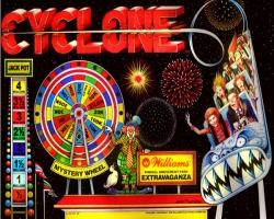 Williams Cyclone 1988 Pinball Machine