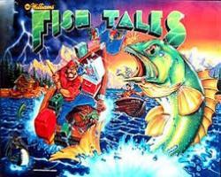 Williams Fish Tales 1992 Pinball Machine
