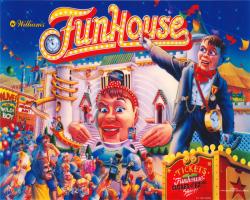 Williams Funhouse 1990 Pinball Machine