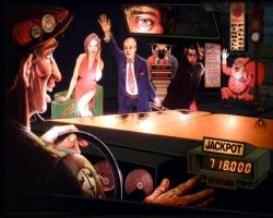 Williams Taxi 1988 Pinball Machine