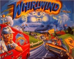 Williams Whirlwind 1990 Pinball Machine