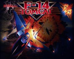 Williams f-14 Tomcat 1987 Pinball Machine