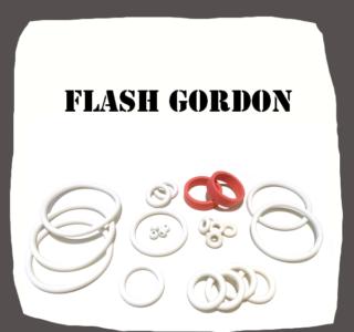 Bally Flash Gordon Rubber Kit for Pinball Machine