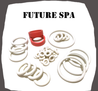 Bally Future Spa 1979 Rubber kit for Pinball Machine