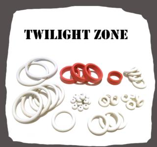 BallyMidway Twilight Zone Rubber Kit for Pinball Machines