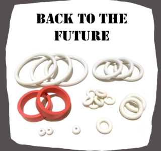 Data East Back to the Future Rubber Set Pinball Parts