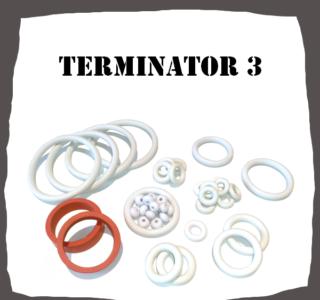 Stern Terminator 3 Rubber kit for Pinball Machine