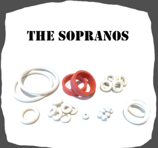 Stern The Sopranos 2005 Rubber kit for Pinball Machine