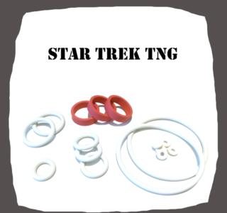 Williams Star Trek TNG Rubber Kit for Pinball Machine